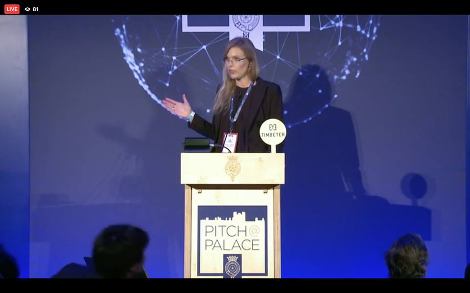 "Anna-Greta Tsahkna of Timbeter at The Duke of York's ""Pitch@Palace Global"" event in St. James's Palace, London, UK"